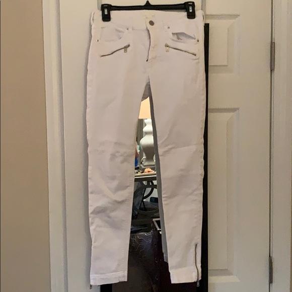 H&M Denim - H&M white jean pant